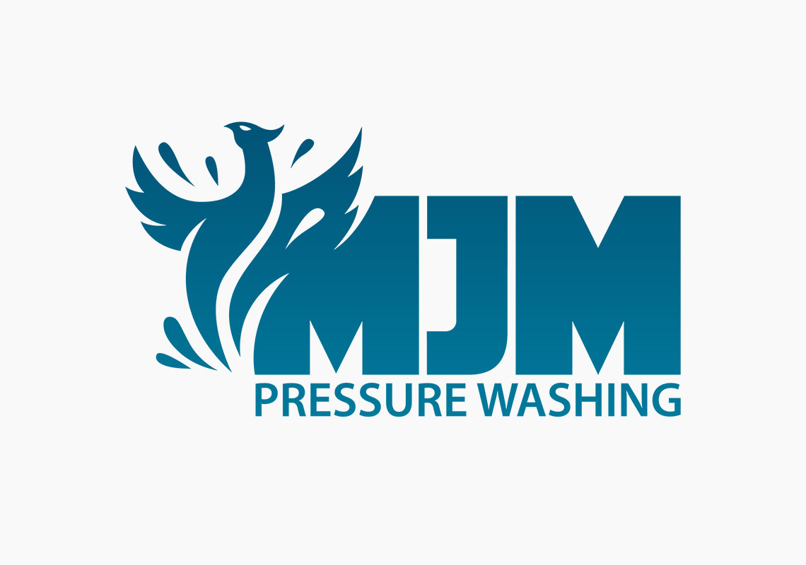 Branding of MJM Pressure Washing - Logo