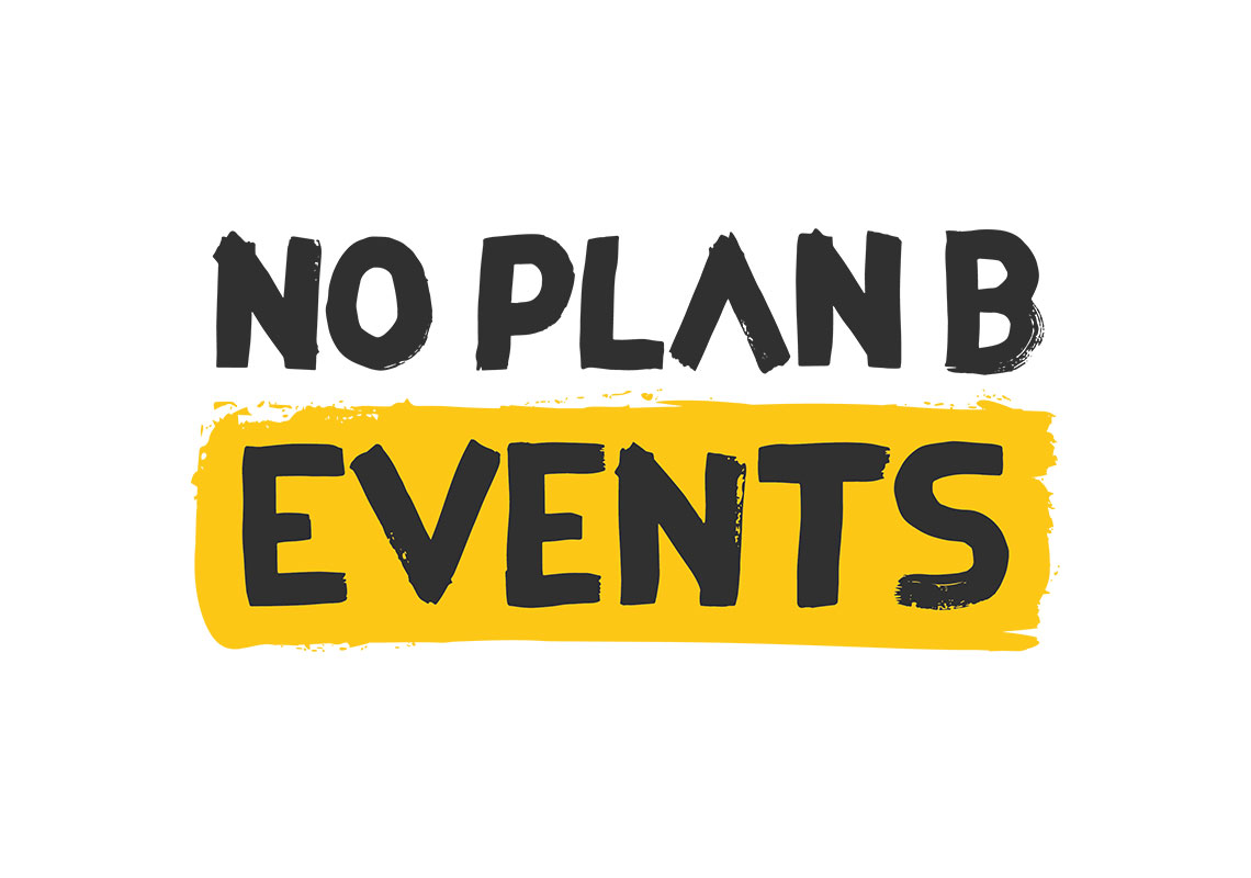 Branding of No Plan B Events - Business Cards